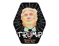 Trump American Pale Ale Pump Clip Designs