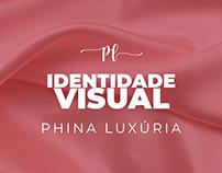 Projeto de Identidade Visual Phina Luxúria