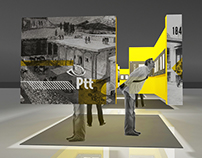 exhibition space designing for ptt