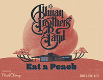 Allman Brothers Poster for ATL Collective