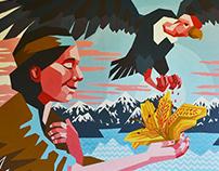 Amancay mural