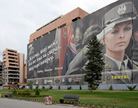 In Belgrade: the Ministry of Defence