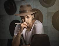 """Hat Maker"" Kaburi Hat (Handmade hats from KOBE, Japan)"