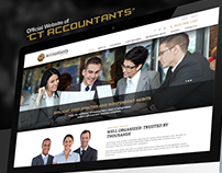 Professional Web Design for an Accounting Firm