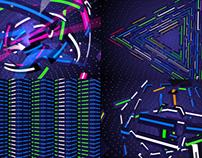 Striped Neon - VJ Loop Pack (4in1)