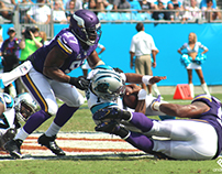 Panthers vs Vikings Photos