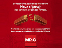 MP&C Comunica   Recesso de fim de ano