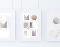 Blurred- vector font