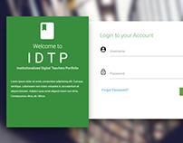 IDTP Login Page