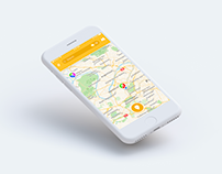 Mapstr UI and UX redesign