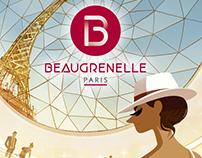 Beaugrenelle Paris : brand illustrations.