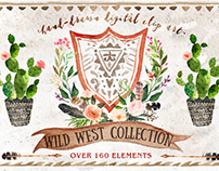 Watercolor Wild West Collection
