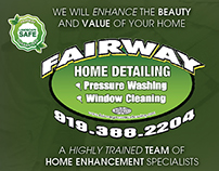 Fairway Home Detailing Roll Fold Brochure