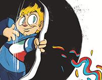 Olympic Frames - Illustri Festival / Kinder+Sport