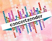 Graphics for Concertzender website