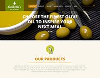Olive Oil Company Joomla Template