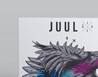JUUL artwork and packaging