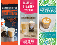 Allegro Coffee Banners