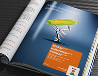 KWS advertising prints layouts