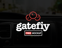 Gatefiy Free Car Screen Mockup