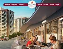 Bulvar İstanbul Cadde website tasarım çalışması