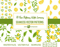 10 FREE PATTERNS WITH LEMONS