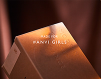 ANVI Studio   Candle Packaging