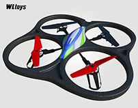 Quadcopter wltoys v262