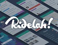 Ridelah! – Ridesharing Mobile App