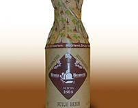 Verpakking brunia bier