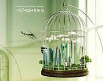 I Love Bahrain - Photoshop Manipulation
