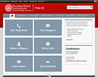 Illinois State University Title IX Website