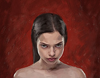 """CARMEN"" comic Ryonen (Jennifer Sullins)"