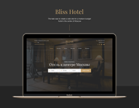 Bliss Hotel Website Design