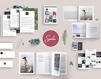 Asian Dream Branding Bundle, Stationary Templates