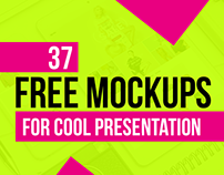 37 Latest Free PSD Mockup Templates for Cool Presentati