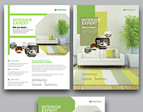 Interior Flyer Design Template
