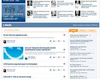 Elektronik Demokrasi Partisi, Web Tasarım