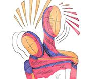 Illustrations - Pour l'amour des sans visages