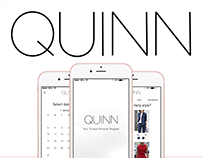 Quinn Personal Shopper Application