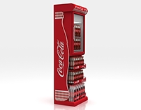 Coke and Snack combination rack