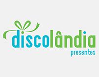 Discolândia Presentes - Logo