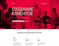 Landing page for BUSINESS