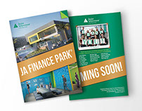 Finance Park Brochure Design