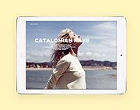 Catalonian Rays Digital Editorial