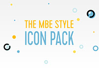 The MBE style Icon Pack