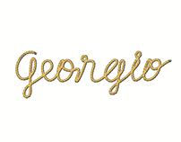 Typographie Georgio