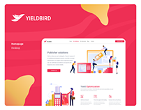 Web redesign for Yieldbird - Yield Management expert