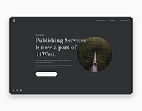 Landing Page Concept for 14West