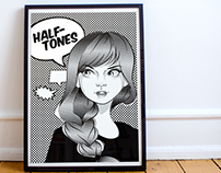Halftones - Illustration